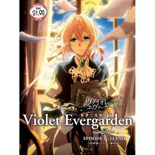 Violet Evergarden Ep.1-14 End Anime DVD