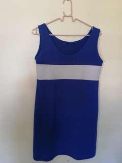 🐳 Blue- Short dress