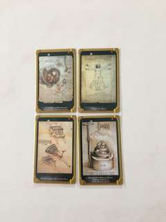 SMRT Card - Da Vinci's Sketches