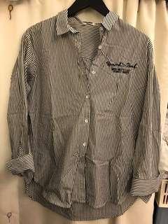 H:connect 直條紋襯衫