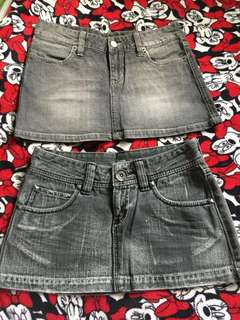 Maong Skirt Bundle (50 each)
