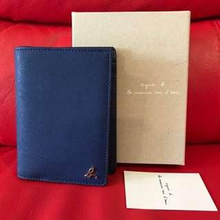 Authentic Agnes B Passport Holder/ Wallet