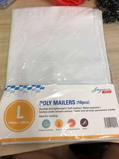 9pcs pack of L sized mail bag