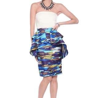 Brand New Love Bonito Sachiela Printed Skirt