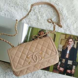 Chanel CC Filigree Flsp