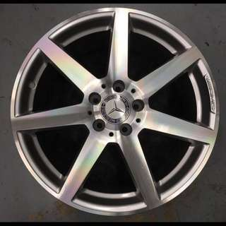"""18"""" Ori AMG Rims + Tyres Package set for Mercedes Benz C class"""