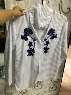 Embroidered Blouse Free Size
