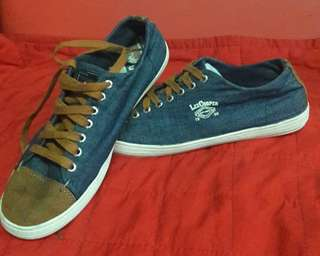 Lee denim sneakers