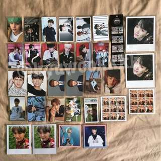 BTS Official Korea / Taiwan Press Photocards