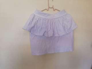 🌼White Mini Skirt