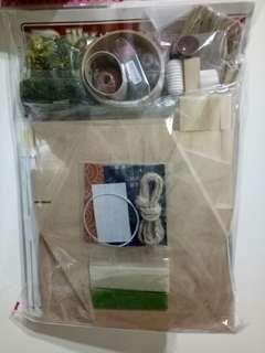 DIY 日式 手工 可愛小屋子 會津街道 大內宿 蕎麥麵屋(未組裝品)