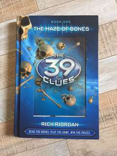 39 CLUES THE MAZE OF BONES (BOOK 1)
