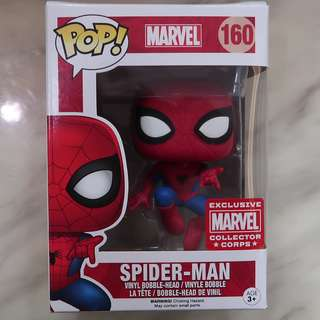 Funko Pop Spider-Man Marvel Collector Corps Exclusive