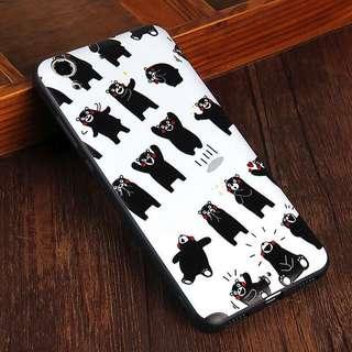 Kumamon Bear Design HUAWEI y5 II Embossed Rubber Case