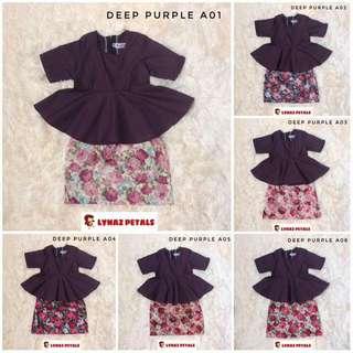 Baby Peplum + Skirt