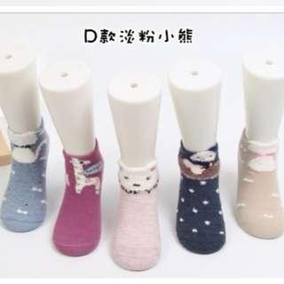 全新現貨 春夏新款棉質淺口立體親子短襪(5入/組)D款