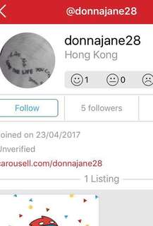 Caution* Please do not trust this buyer/seller