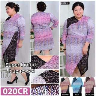 Plus Size Dress Batik
