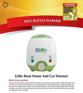 Little Bean Bottle Warmer