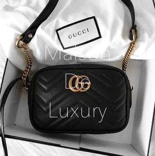 📦Carousell Customer Order - Gucci GG Marmont Matelasse Camera Bag