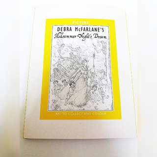 Adult Colouring book-midsummer night's dream