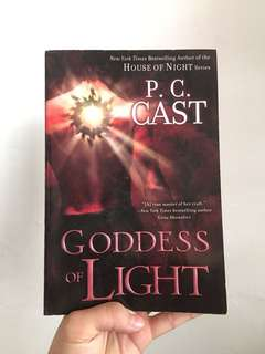 PAPER BACK BOOK - Goddess of Light by P.C. Cast