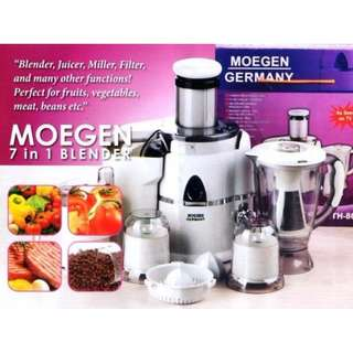 Juicer 7 In 1 Classic Moegen Germany Blender Multifungsi