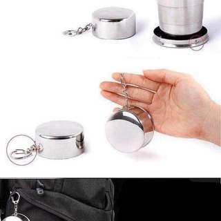 Stainless collapsible cup