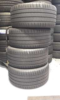 4 x Michellin PS 4 S 19inch Tyres