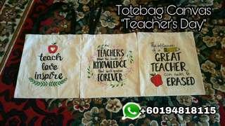 Totebag teacher's day