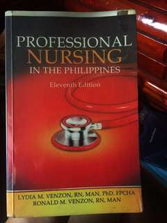 Professional Nursing in the Philippines (11th edition)