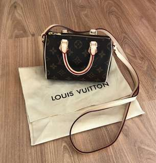 Authentic Louis Vuitton Nano Speedy