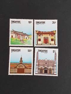 Singapore Stamp.1984 S'pore National Monument (mint hinged).
