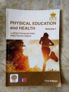 Physical Education and Health Kto12