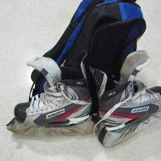 Quick  sale. Preowned full set Ice Hockey Gears x 2 sets Suitable for youths