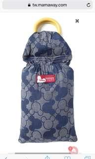 Mama way 迪士尼米奇萬花筒育兒背巾(藍色)