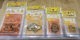 Authentic Sanrio Gudetama Mini Zip Bag