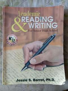 Academic Reading and Writing Grade 11