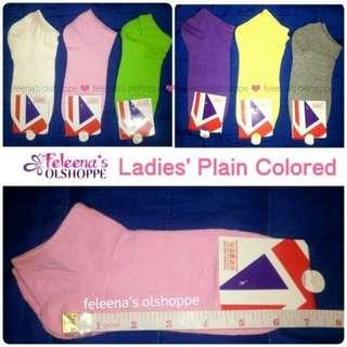 Ladies colored socks