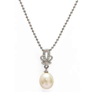 Fresh Water Pearl Pendant With Chain RM78