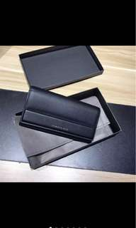 (Authentic) Charles & Keith Magnetic fold over long wallet
