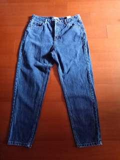 PULL&BEAR 藍色牛仔褲(165)