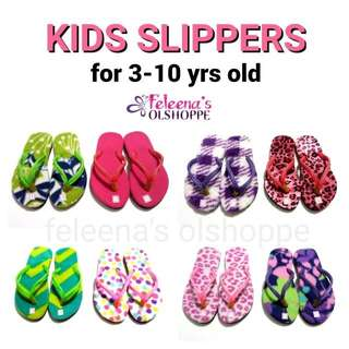 Kids slippers flipflops