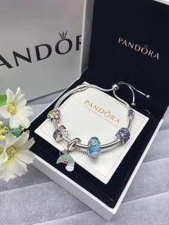 Oringial Pandora Preorder Bracelet Rainbow series