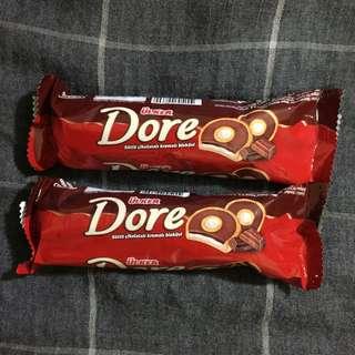 Ülker Dore 巧克力奶油餅乾