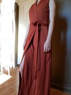 ZALORA Wrap dress (Long)