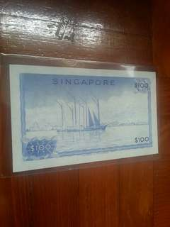 Orchid series,  $100 note 1pcs.