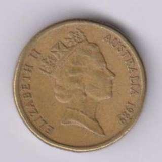 Old Australia Coin