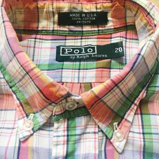 Ralph Lauren Polo Shirt  Made in U.S.A.