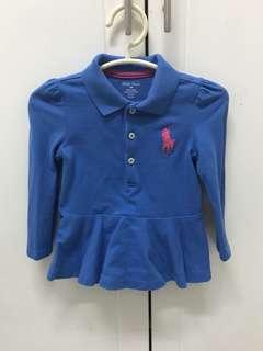 Authentic Ralph Lauren Baby Peplum Top #letgo4raya